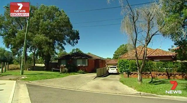 The homes are just 30 metres from where work is being done. Source: 7News