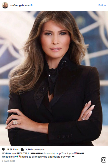 Why Melania Trump's White House Portrait Veers Off-Message