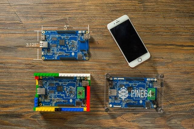 Pine A64 offers powerful micro-PC competitor for the RaspBerry Pi