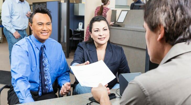 Business owners take out a line of credit