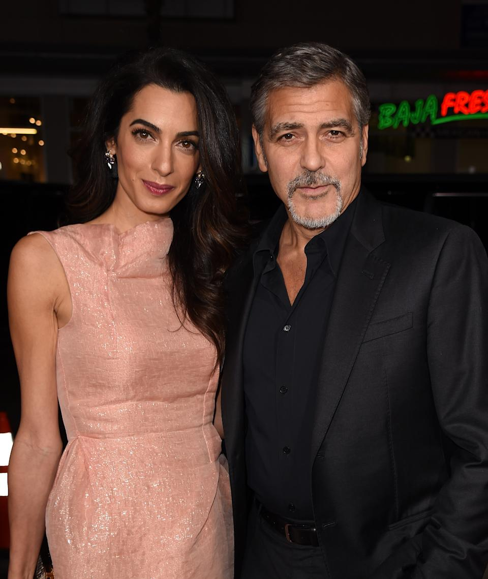 <p>After decades as Hollywood's most notorious bachelors, Clooney met his match in British human rights attorney Amal Alamuddin. The pair wed in 2014 and welcomed twins, Ella and Alexander, in 2017. <em>(Image via Getty Images)</em></p>