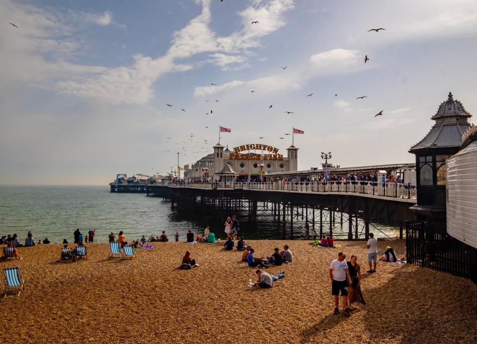 Brighton is the best place for Brits to start a side-hustle. (The UK Domain)