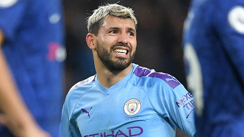 Aguero to miss Manchester Derby as Guardiola rules Man City star out for 'a few games'