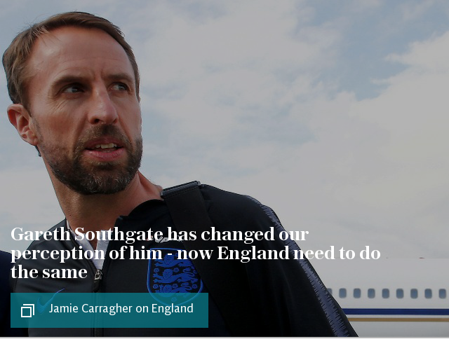 Carragher on Southgate