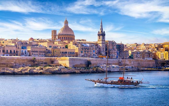 Malta is used to welcoming 840,000 Britons a year. How will it cope with millions? - Getty