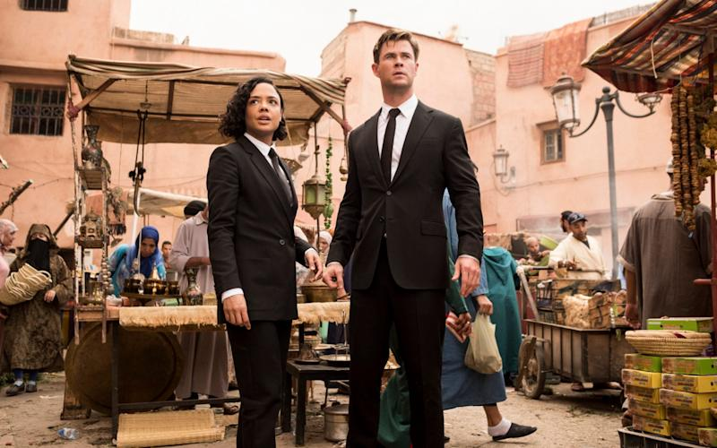 Men in Black: International was funded in part by Tencent - Giles Keyte/© 2019 CTMG, Inc. All Rights Reserved. **ALL IMAGES ARE PROPERTY OF SONY PICTURES ENTERTAINMENT