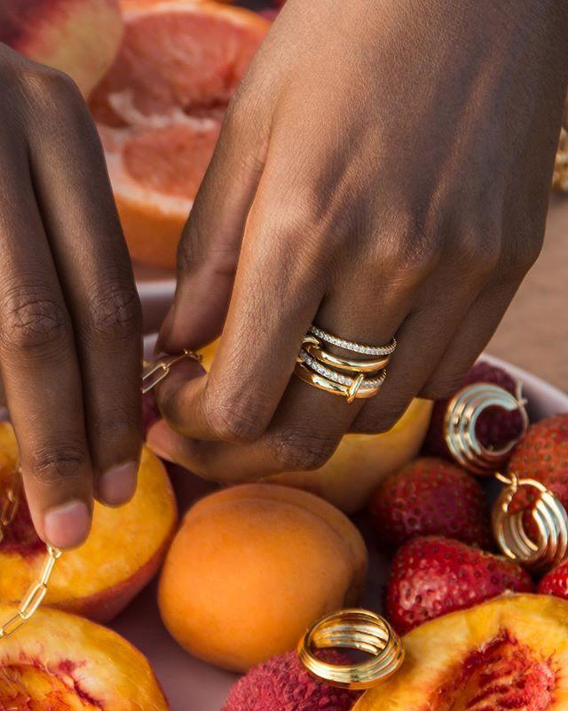 """<p>I don't know what looks more delicious in this pic—the fruit or the awesome gold rings and earrings. From chunky chain pieces to tubular designs, you'll definitely find something you like.</p><p><strong>Website:</strong> <a href=""""https://www.omathelabel.com"""" rel=""""nofollow noopener"""" target=""""_blank"""" data-ylk=""""slk:omathelabel.com"""" class=""""link rapid-noclick-resp"""">omathelabel.com</a></p><p><a href=""""https://www.instagram.com/p/CEFVI6Ul_TX/"""" rel=""""nofollow noopener"""" target=""""_blank"""" data-ylk=""""slk:See the original post on Instagram"""" class=""""link rapid-noclick-resp"""">See the original post on Instagram</a></p>"""