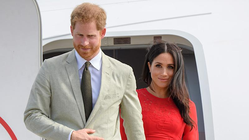 Harry and Meghan found themselves in hot water over their flying habits. Photo: Getty Images