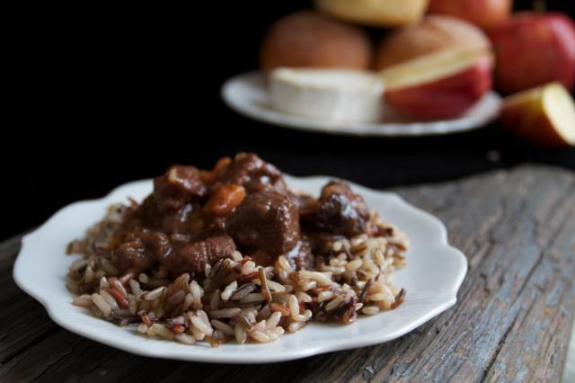 """<div class=""""caption-credit""""> Photo by: Food Through the Pages</div><div class=""""caption-title"""">Lamb Stew with Dried Plums</div>""""No wonder this is Katniss Everdeen's favorite dish from the Capitol,"""" writes Food Through Pages, a blog that brings food from books to life. Use two pounds of cubed lamb. <br> <br> <b>Recipe: <a rel=""""nofollow noopener"""" href=""""http://foodthroughthepages.com/2012/09/01/lamb-stew-with-dried-plums-the-hunger-games/"""" target=""""_blank"""" data-ylk=""""slk:Lamb Stew with Dried Plums"""" class=""""link rapid-noclick-resp"""">Lamb Stew with Dried Plums</a></b> <br>"""