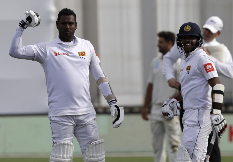 afad7cd6 Mendis and Mathews revive Sri Lanka on Day 4 of 1st test
