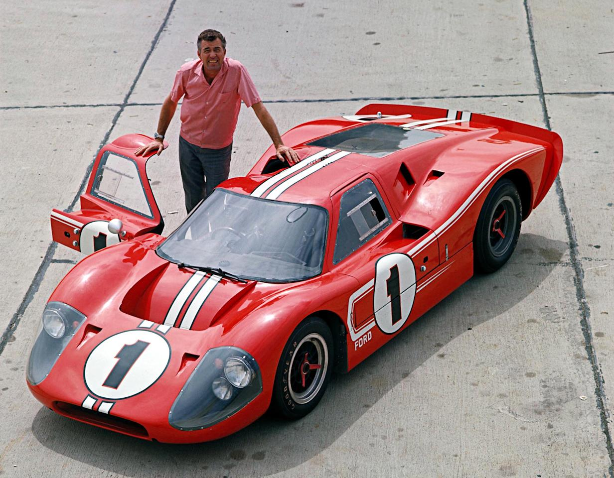 Built with the goal of beating Ferrari at Le Mans, the Ford GT40 performed poorly until Carroll Shelby headed the racing program. Under his direction and with the Mk II GT40, Ford enjoyed a four-year winning streak from 1966 to 1969, including a 1-2-3 finish in the 24 Hours of Le Mans.