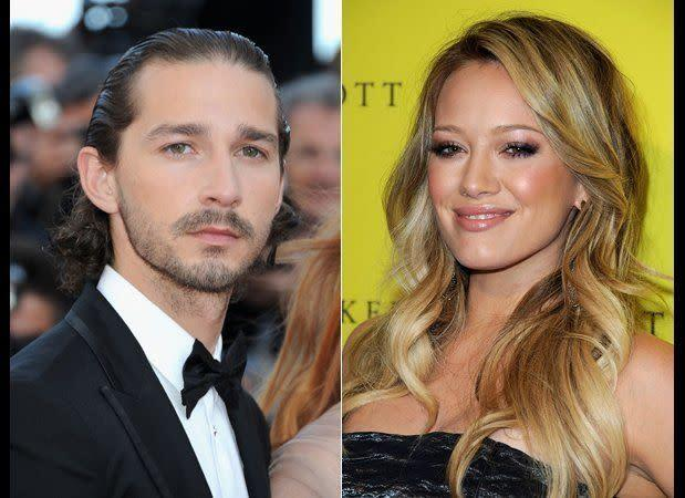 "LaBeouf and Duff, who just gave birth to her first child, went on an epically bad date -- according to LaBeouf himself. ""Probably the worst date either of us have ever had,"" <a href=""http://www.hollywoodlife.com/2011/06/28/shia-labeouf-megan-fox-transformers-dark-of-the-moon/"" rel=""nofollow noopener"" target=""_blank"" data-ylk=""slk:the &quot;Transformers&quot; star told Details"" class=""link rapid-noclick-resp"">the ""Transformers"" star told Details</a> of their failed connection."