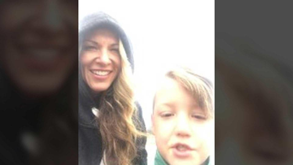 Lori Vallow-Daybell and JJ Vallow at  Yellowstone National Park on September 8, 2019. / Credit: FBI
