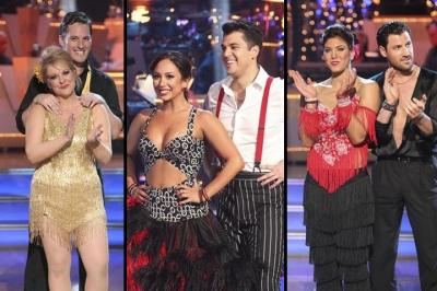 Tristan and Nancy, Cheryl and Rob, Hope and Maks -- ABC