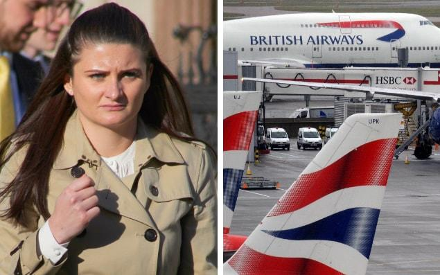 Lucy Sargeant, 29, is suing British Airways - Paul Keogh