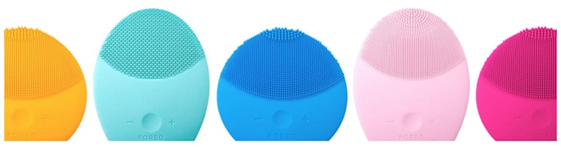 Smooth skin in under a minute with one of Foreo's teensy face brushes. Source: Foreo