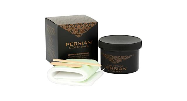 Persian Cold Wax Kit for Fine to Medium Hair Types Body Waxing