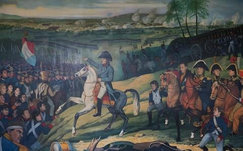 Painting ofNapoleonic wars - Credit: HEATHCLIFF O'MALLEY FOR THE TELEGRAPH