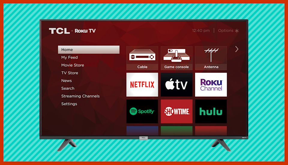 Save $532 on this TCL 65-inch 4K Ultra HD Roku Smart LED TV (65S435). (Photo: TCL)