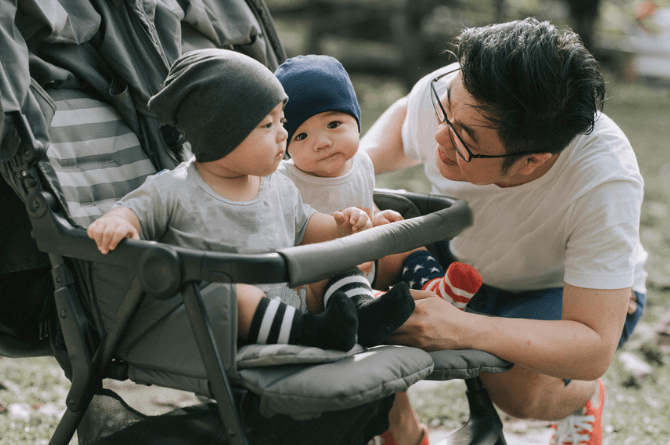 become a father message