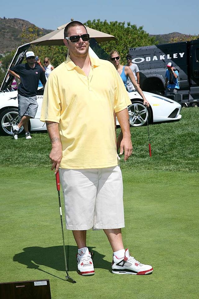 "Kevin Federline, who's looking less like K-Fed and more like K-Well-Fed, shocked some observers with his appearance. ""Man, that's a belly on him!,"" an employee of the Coto de Caza Golf & Racquet Club was heard saying. Tiffany Rose/ WireImage.com - July 27, 2009"
