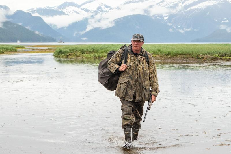 Dr. Al Gross has showcased his identity as an Alaskan outdoorsman in campaign materials. Some skeptics think Gross' schtick is over the top. (Photo: Dr. Al Gross for Senate/Flickr)