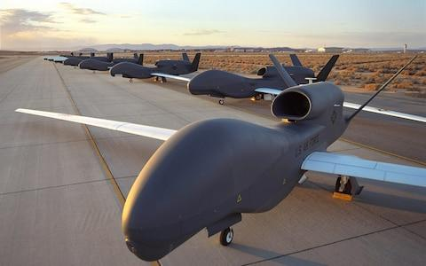 Iran claims to have shot down a RQ-4 Global Hawk - Credit: EPA