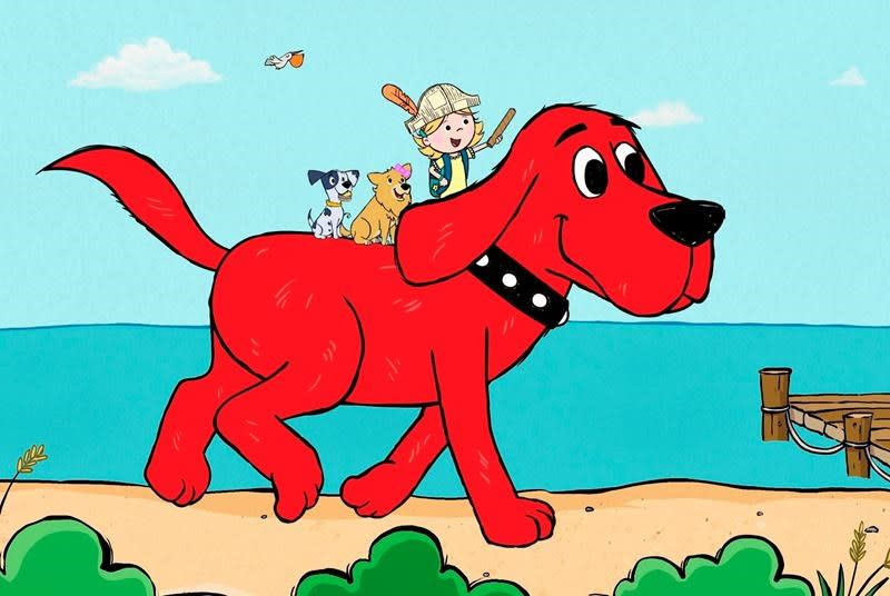 Clifford, everybody's favourite big red dog, gets a reboot