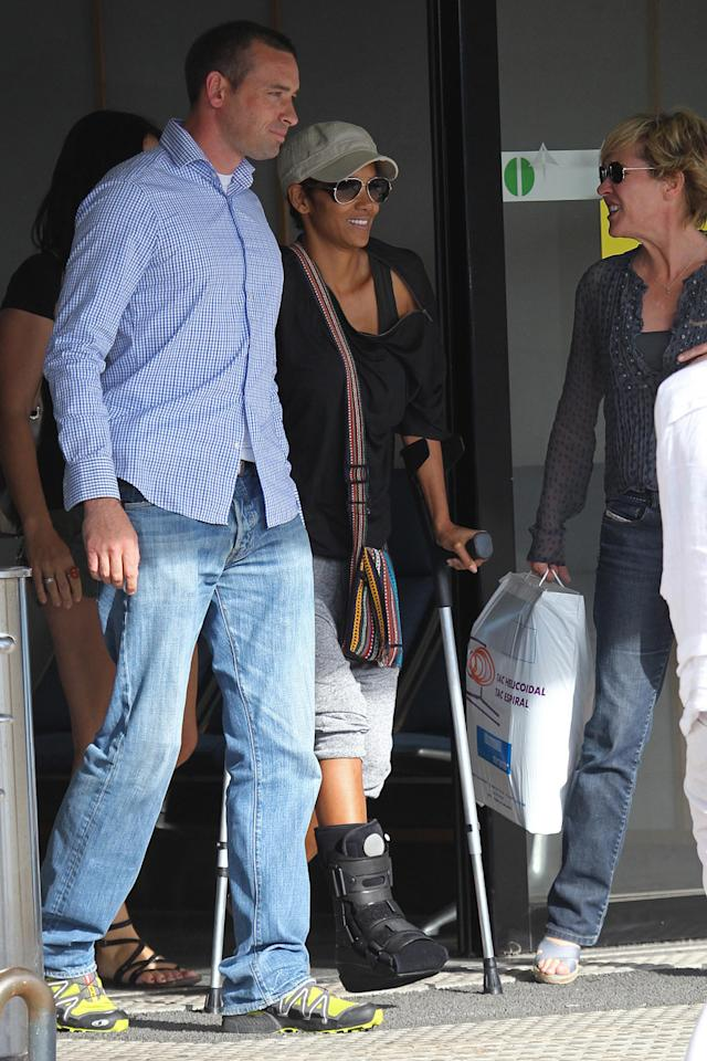 Stars Injured on Set, Halle Berry