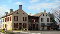 """<p>No Bardstown bar has seen as much action as this one. The <a href=""""https://www.tripadvisor.com/Restaurant_Review-g39163-d554687-Reviews-Old_Talbott_Tavern-Bardstown_Kentucky.html"""" rel=""""nofollow noopener"""" target=""""_blank"""" data-ylk=""""slk:Old Talbott Tavern"""" class=""""link rapid-noclick-resp"""">Old Talbott Tavern</a> has been in operation since 1779—that's before the Civil War—and pioneers, soldiers, and criminals alike have stayed under its roof or dined on its Southern staples.</p>"""