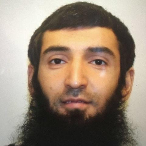 Sayfullo Saipov was an Uber driver - Credit: @NYScanner/Twitter