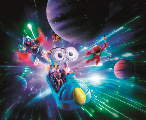 Sesame Street Spaghetti Space Chase is a fun-filled family adventure with your favourite characters.