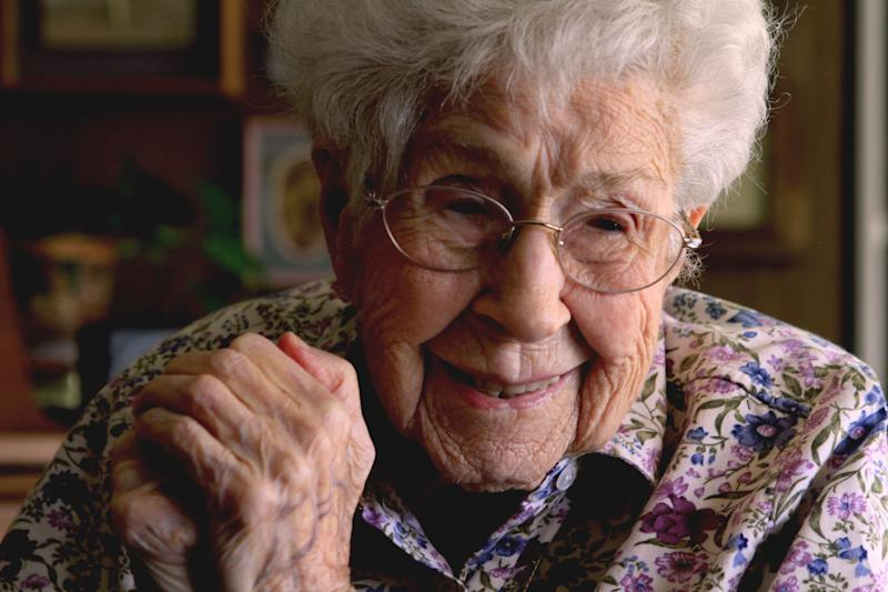 Mary Tankursley became a member of the 110 club briefly before passing away. Experts say that when a person hits that age, their life expectency is about 50 percent.