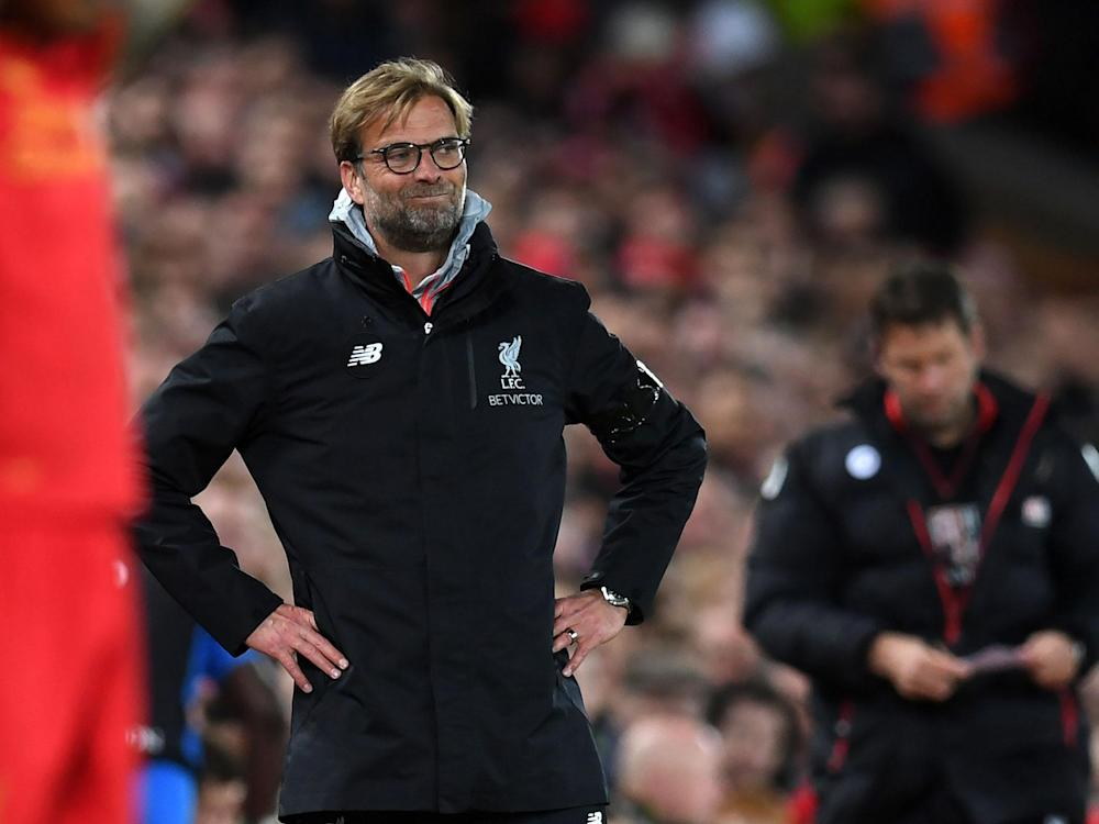 Klopp's side were held by Bournemouth in a 2-2 draw on Wednesday night: Getty