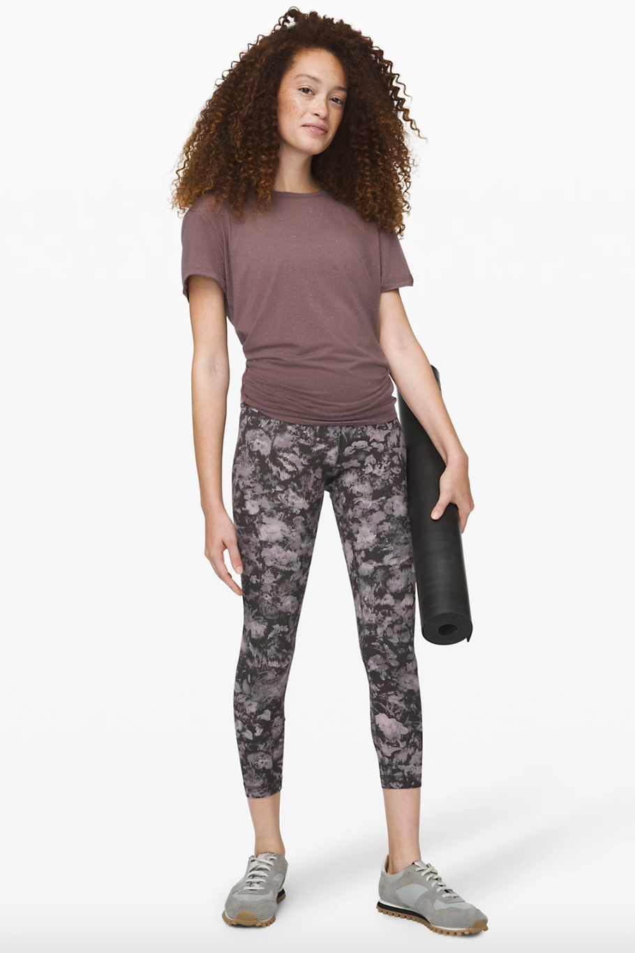 """Align Pant II 25"""" in floral illusion ice grey"""