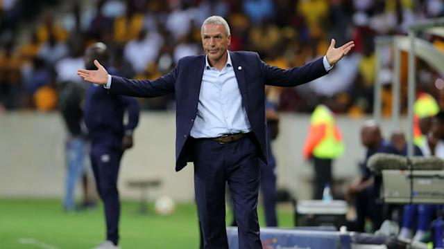 The Amakhosi boss is seemingly not impressed with Bucs' lack of interest when it comes to the PSL title