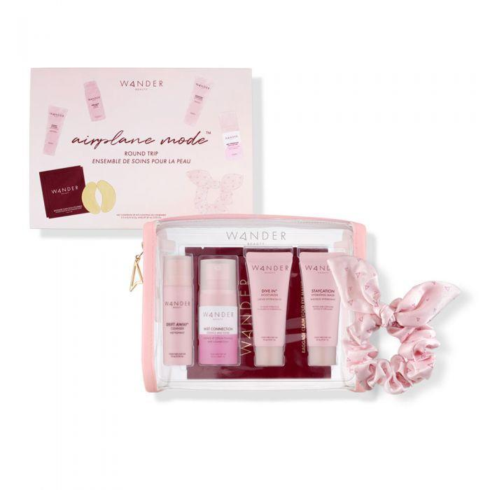 """<h2><span><h2>Wander Beauty Airplane Mode Round Trip Kit </h2></span></h2><br>Mom's next vacation might be on hold, but this set — which includes eye patches, a hydrating cleanser, moisturizer, and finishing mist — brings her canceled hotel-spa experience home.<br><br><strong>Wander Beauty</strong> Airplane Mode™ Round Trip, $, available at <a href=""""https://go.skimresources.com/?id=30283X879131&url=https%3A%2F%2Fwww.wanderbeauty.com%2Fairplane-mode-round-trip"""" rel=""""nofollow noopener"""" target=""""_blank"""" data-ylk=""""slk:Wander Beauty"""" class=""""link rapid-noclick-resp"""">Wander Beauty</a>"""