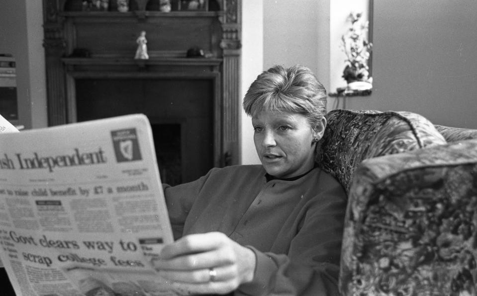 Veronica Guerin fue asesinada en junio de 1996 por una banda criminal. (Foto: Independent News and Media/Getty Images)