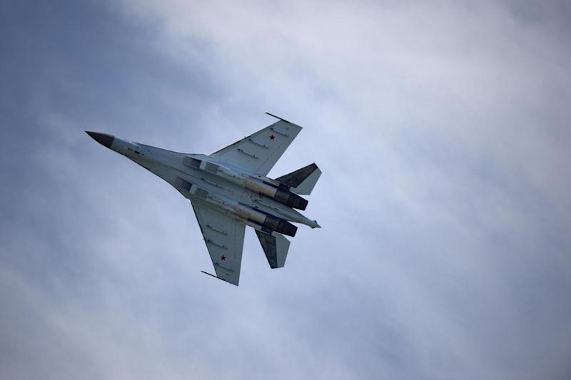 The sanctions relate to China's purchase of 10 Russian Sukhoi Su-35 fighter jets: AFP/Getty Images