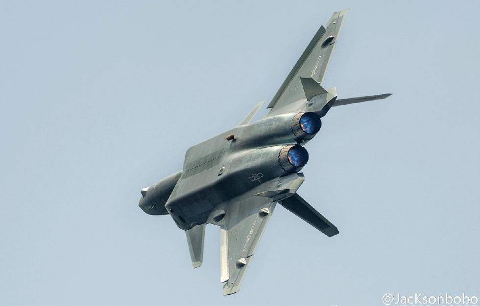 Our Latest Look at China's New Stealth Fighter