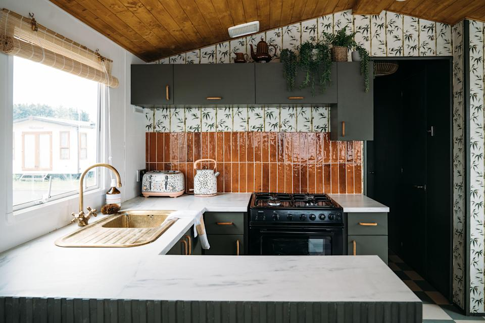 """AFTER: """"We wanted to show that beautiful design is accessible to everyone,"""" Anna says. """"You don't need to spend tens of thousands of pounds to create a beautiful space."""""""