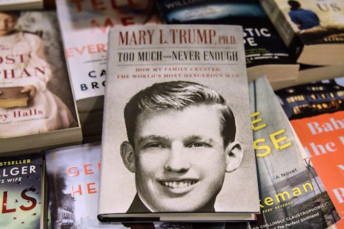 """<div class=""""inline-image__caption""""><p>Mary Trump's book about her uncle, Donald Trump.</p></div> <div class=""""inline-image__credit"""">Stephanie Keith/Getty</div>"""