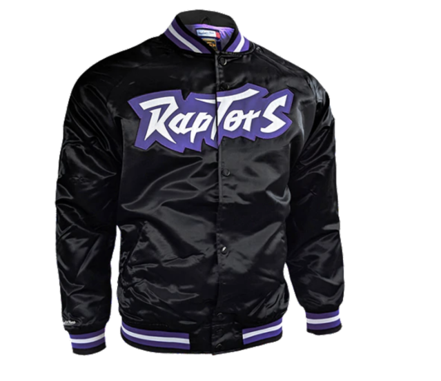(Mitchell and Ness Raptors Jacket)