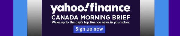 Signup for the Yahoo Finance Canada newsletter.