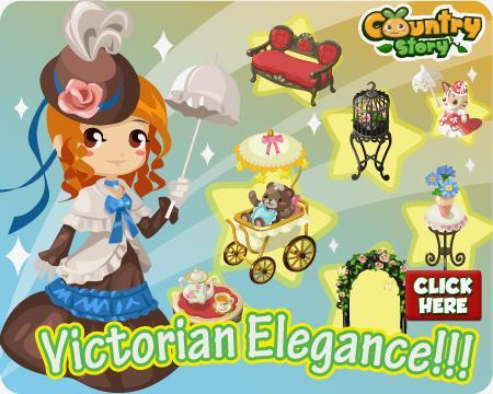country story victorian items