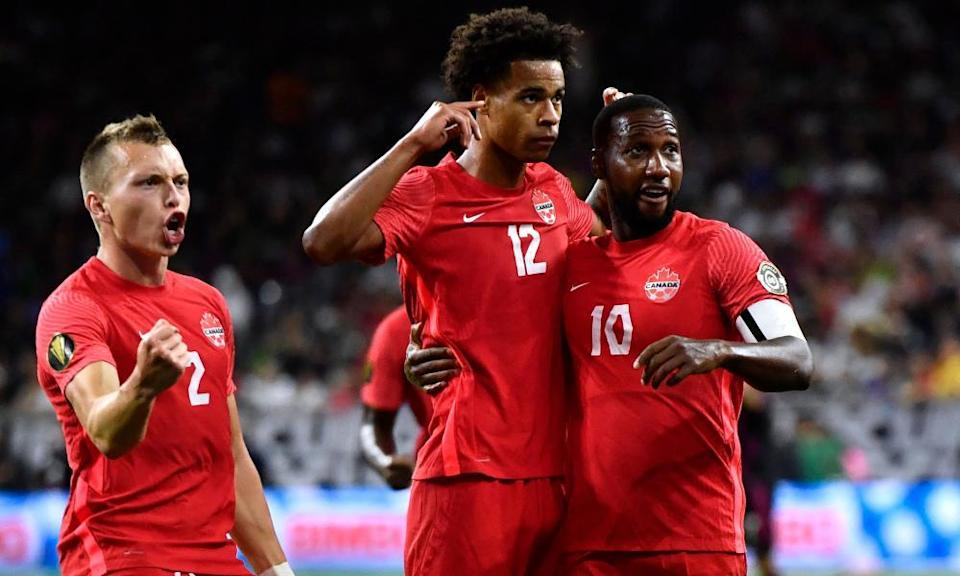 Canada put an encouraging performance at the Gold Cup