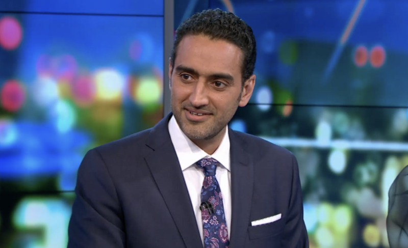 Waleed Aly may have met his match on Monday night's The Project. Photo: Network 10