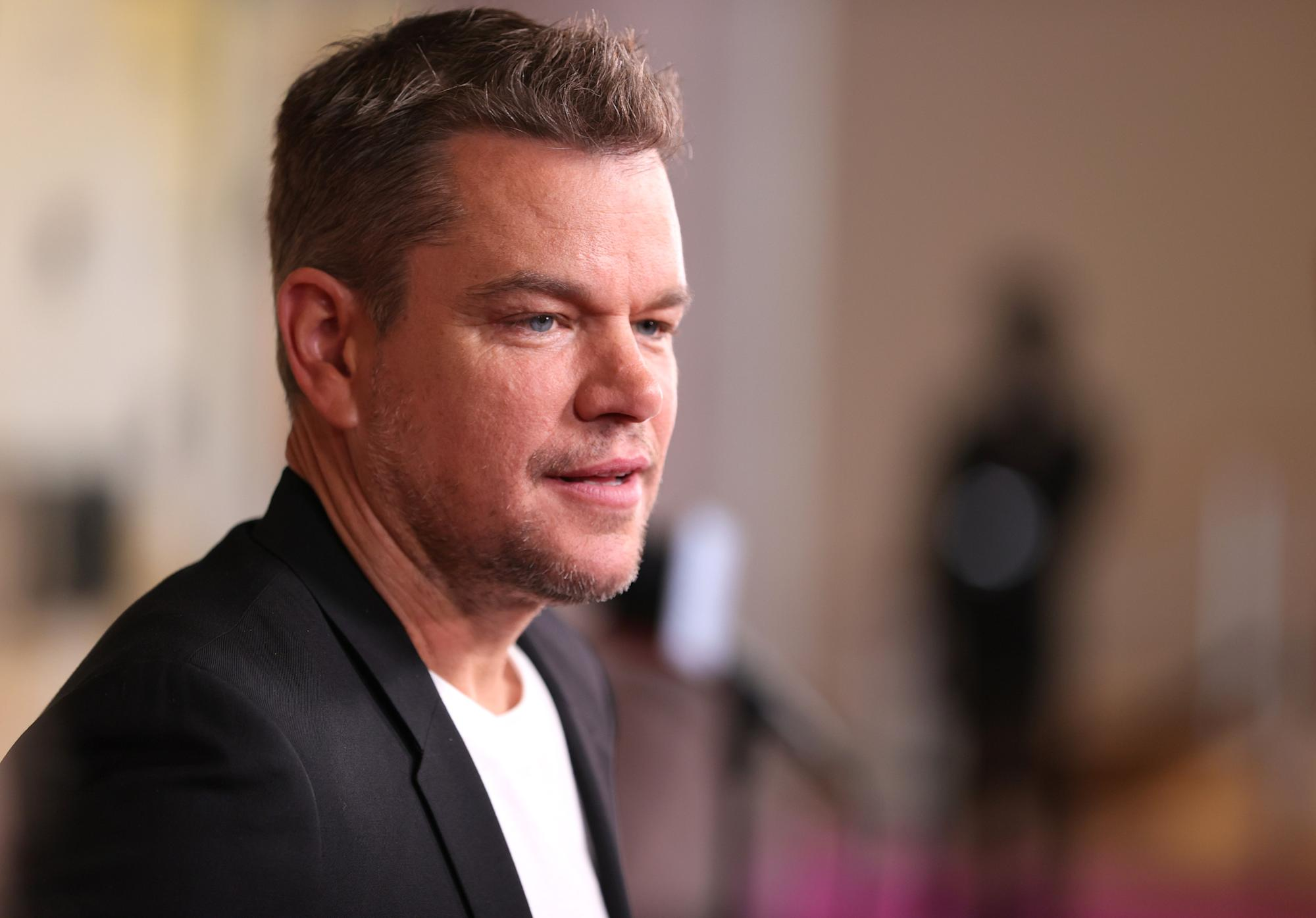 Matt Damon says he stopped saying the 'f-slur' after his daughter wrote a treatise explaining why it's 'dangerous'