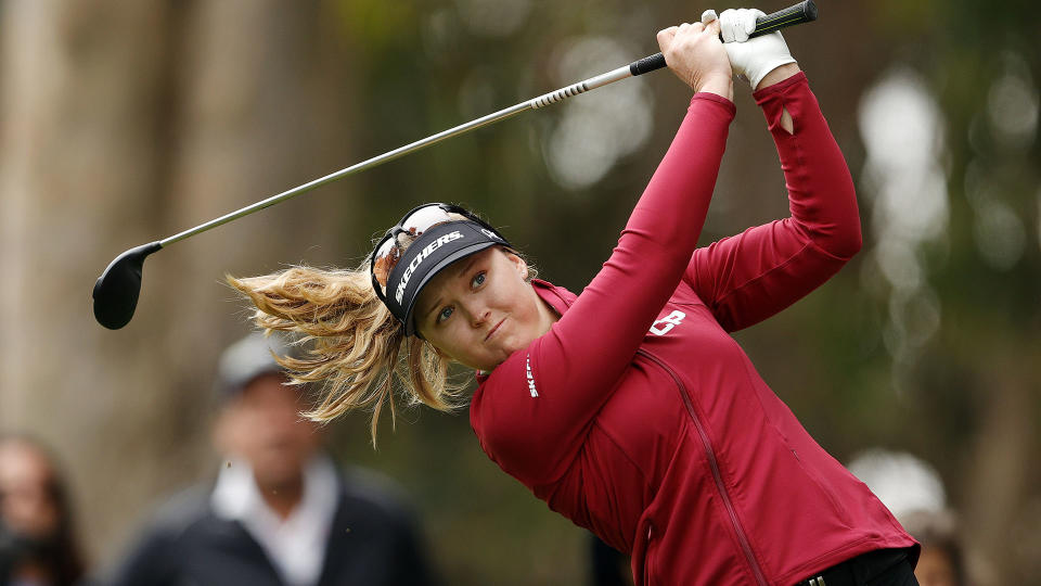 Brooke Henderson has a legitimate chance at Olympic gold. (Photo by Ezra Shaw/Getty Images)
