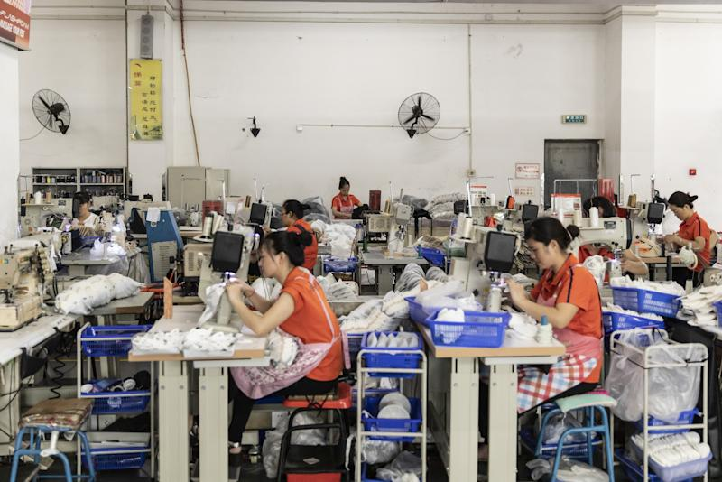 China's Industrial Profit Widens Drop on Economy, Deflation